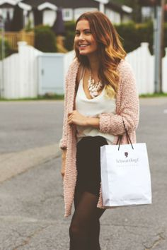 Only Dusty Pink Beaded Cardigan by Sofie Kvelland