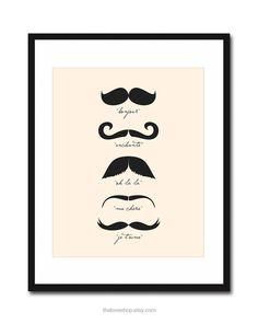 Moustaches!