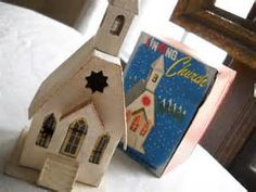 Vintage Christmas church - - Yahoo Image Search Results