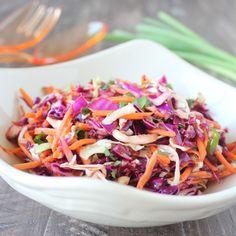 Asian Slaw Recipe * NOTE: Use homemade sauces & coconut aminos