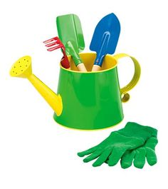 5 Piece Small Garden Tools Set for kids