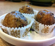 No bake chocolate cookie dough balls. Healthy and delicious. From: http://www.jensinkler.com/no-bake-cookie-dough-balls/