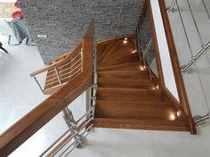 #schody#schodydrewniane#schodyjesionowe#schodysamonośne#dom#wnetrze#design#timberschody#oswietlenieschodow Dom, Stairs, Home Decor, Stairway, Decoration Home, Room Decor, Staircases, Home Interior Design, Ladders