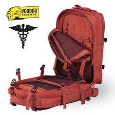 Deluxe Professional Special Ops Medical Pack (Red)