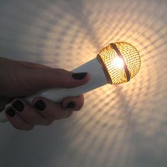 My kind of flashlight...Gold Star Solo Light now featured on Fab.