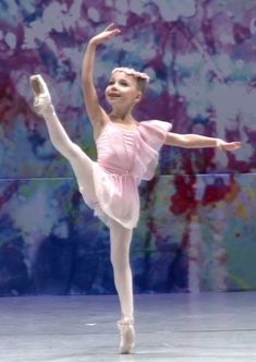 Cupid Variation 7 Year old first time on Pointe