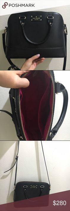 Kate spade crossbody bag Black. Very good condition!!! Bags Crossbody Bags