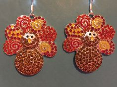 A personal favorite from my Etsy shop https://www.etsy.com/listing/570717201/rhinestone-thanksgiving-turkey-earrings