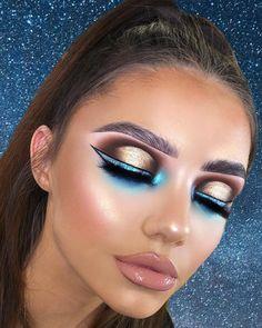 "Laura Ellis Makeup on Instagram: ""Princess jasmine vibes on my beautiful muse @emmy.makeupmodel 👸🏽🦋 inspired by the fabulous @emmybroughton_mua ..."