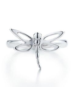 Tiffany & Co Dragonfly Silver Ring