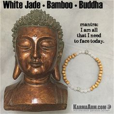 #White #Jade is a calming, grounding stone that also protects the wearer from negative energies. It brings peace, harmony and luck.  #Om #love #yoga #mala #women #men #bracelets #bracelet #chakra #goals #happiness #bead #tibetan #beads# #mantra #healing #zen #meditate #karma #style #prayer #spiritual #meditation #friendship #lucky #buddhist #buddha #aura #fitness #luck #luxury #power #energy #crystal #grateful #motivate