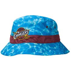 Cleveland Cavaliers Mitchell & Ness Surf Camo Bucket Hat - Blue