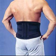 BIOflex Magnetic Lower Back Lumbar Support L/XL