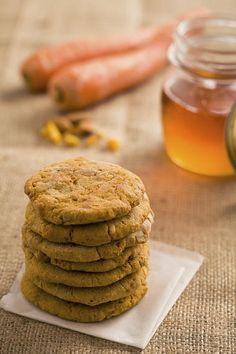 Karotten-Hafer-Kekse