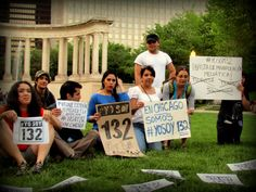 supporting #yosoy132 in Chicago, IL