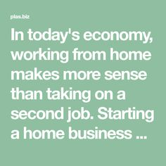 In today's economy, working from home makes more sense than taking on a second job. Starting a home business will be difficult at first, but you can learn. For The Best Network Marketing Techniques, Read This Article. PLAS Technology.