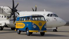 My VW Camper Van: Lufthansa VW