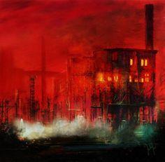 'night shift 3' von Georg Ireland bei artflakes.com als Poster oder Kunstdruck $18.71