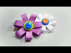 Indoor Activity - Making flower brooch.