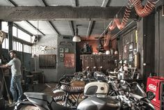 Photography: Paulina ArcklinLocation:  Officine Riunite Milanesi in Milan, Italy