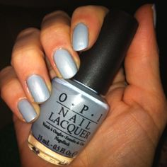 OPI---I wanna be a lone-star. So pretty and feminine. But maybe too icy blue. Not much nuance.