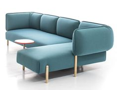 Flexible Modern Modular Sofa by Patricia Urquiola bright color rounded shape sofa in Furniture Design