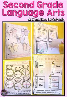 Interactive notebooks are a great way to get your students engaged in note-taking and assess understanding. This set of interactive notebook pages includes a page for each 2nd Grade Common Core Language Arts Standard that works well in this format, as well as pages for some additional ELA and grammar skills I cover with my own second graders.