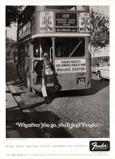 An old Fender UK advert