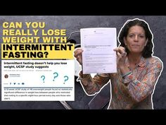 Is Intermittent Fasting Effective For Weight Loss - YouTube Keto Fast, Lose Weight, Weight Loss, Sally Beauty, Intermittent Fasting, You Really, Healthy Tips, Knowledge, Study