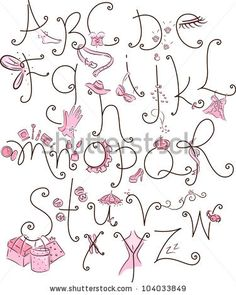 Scrapbook Embroidery Font  Scrapbook Ideas    Fonts