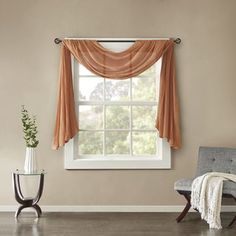 Best 25 Scarf Valance Ideas On Pinterest Window Curtain