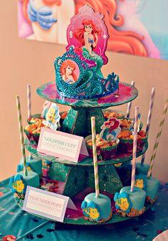 ariel birthday party food ideas - Google Search
