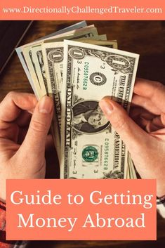 Exchanging Money Abroad: How to & How much? – The Directionally Challenged Trave… Exchanging Money Abroad: How to & How much? – The Directionally Challenged Traveler Travel Advice, Travel Tips, Travelling Tips, Travel Hacks, Time Travel, Travel Guides, Travel Reviews, Travel Information, Travel Abroad