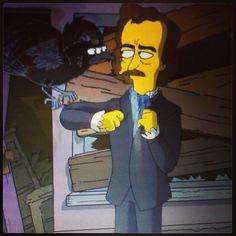 Poe on The Simpsons
