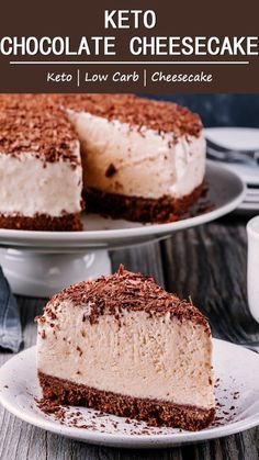 Everyone has their favourite cake and mine is cheesecake. Right at the first bite, you'll say it's one of the best cheesecakes you've tasted. bites easy bites keto bites mini bites no bake bites no bake easy bites recipes Best Cheesecake, Low Carb Cheesecake, Chocolate Cheesecake, Cheesecake Recipes, Dessert Recipes, Breakfast Recipes, Cheesecake Brownies, Cheesecake Bites, Cheesecake Cupcakes
