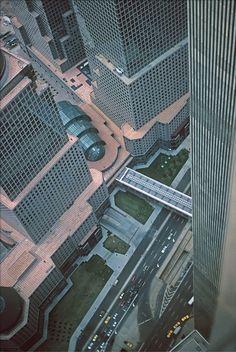 World Trade Center Nyc, Trade Centre, New York Landmarks, North Tower, New York Photography, Cool Restaurant, Marriott Hotels, Urban Life, Urban Exploration