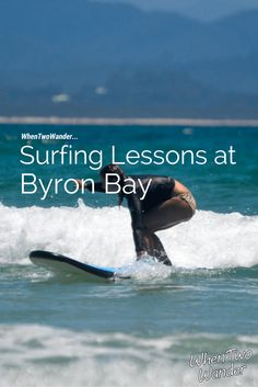 Byron Bay is a surf town and there's no doubt about it. It's laidback, it's youthful, and it's full of young, carefree, good-looking beach bum types reminiscent of Shaggy from Scooby-Doo.