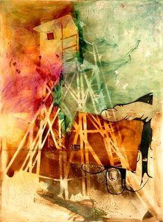 Resin Artwork Piece by Sigmar Polke