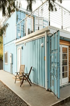 Shipping container home can be built cheap. In most of the cases cheaper than traditional construction home.So why not everyone is choosing to live in a shipping container homes? The answer is- limited size. Shipping container has standard size: width, Container Home Designs, Storage Container Homes, Cargo Container, Prefab Container Homes, Shipping Container Sheds, Shipping Container Buildings, Shipping Containers, Building A Container Home, Container House Plans