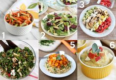Salad and Side Dish Recipes with Apples plus over 40 other apple recipes Pasta Salad, Cobb Salad, Side Dish Recipes, Side Dishes, How To Eat Less, Apple Recipes, Kung Pao Chicken, Nom Nom, Yummy Food