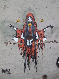 Deih graffiti, Valencia