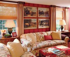Lovely design by Susan Zises Green for a Connecticut home