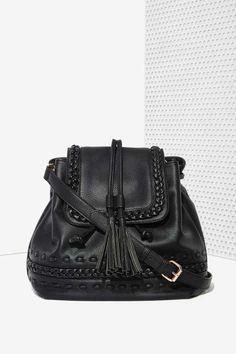 5ffc0ff9f2fd Blythe Vegan Leather Shoulder Bag - Bags + Backpacks Back Bag