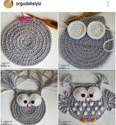 Crochet Applique Patterns Free, Granny Square Crochet Pattern, Crochet Animal Patterns, Crochet Stitches, Knitting Patterns, Crochet Crafts, Crochet Toys, Crochet Projects, Free Crochet