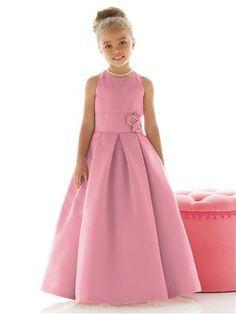 6e187843cb7 Flower Girl Dress FL4022  The Dessy Group - Carnation Flower Girls