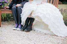 Kittie & Louis' geeky UK wedding