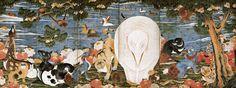 コレクション 風景の交響楽 シンフォニー 伊藤若冲 《樹花鳥獣図屏風》 静岡県立美術館|Shizuoka Prefectural Museum of Art