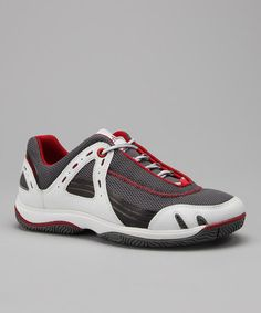 Take a look at this White & Red Formentor Boating Sneaker by Timberland Footwear on #zulily today!