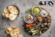 This vegan mezze consists of traditional flatbreads and a plethora of aromatic accompaniments, like vegan Baba Ganoush and Tzatziki for dipping and sharing. Ideal for entertaining, guests will love the variety of textures and flavours on offer Fresh Coriander, Fennel Seeds, Spring Recipes, Vegan Dishes, Serving Dishes, Food Inspiration, A Food