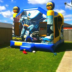 The jumping castle